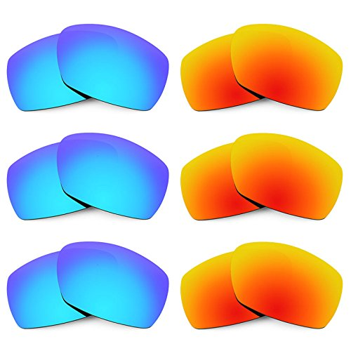 Revant Replacement Lenses for Smith Dockside 6 Pair Combo Pack K029