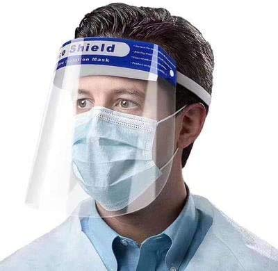 (5 Pack) Safety Face Shield, iFlash Protective