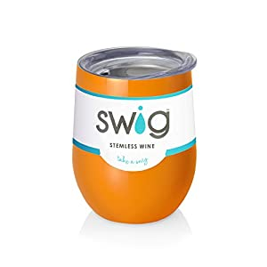 Orange Swig  Wine Tumbler