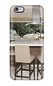 Iphone 6 Plus Hard Back With Bumper Silicone Gel Tpu Case Cover Eat-in Kitchen Counter With Barstools