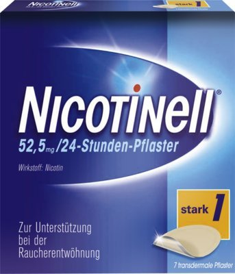 Nicotinell 52,5 mg 24-Stunden-Pflaster, 7 St