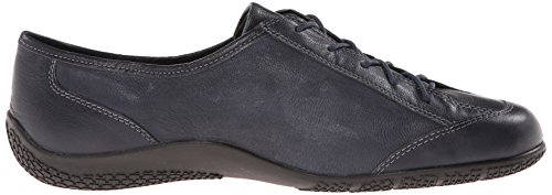Walking Cradles Womens Dara Sneaker-inspired Oxford Navy Brushed Kid