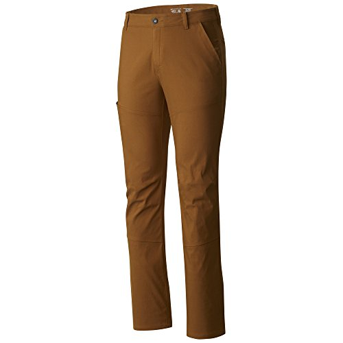 Mountain Hardwear Mens AP Pant for Hiking, Climbing, Commuting and Office - Golden Brown - 32W x 30L