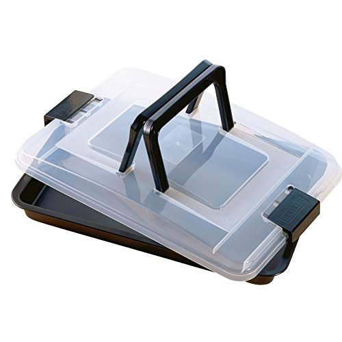 Kaiser Bake & Take Baking pan with lid 16.5x11.41in, 43 x 29.7 x 43 cm, ()