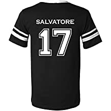 Adult Vampire Diaries Salvatore 17 2-Sided Jersey
