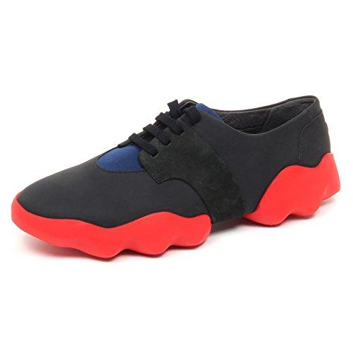 Sneaker Camper Without Shoe Box Woman Scarpe Donna Blu Nero D8814 Nero Blu tq75qWw4rg