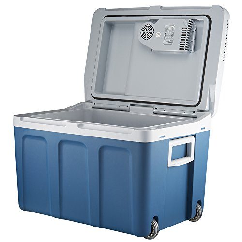 Knox Gear 48 Quart Electric Cooler/Warmer with Built in Car and Home Plug (Blue) by Knox