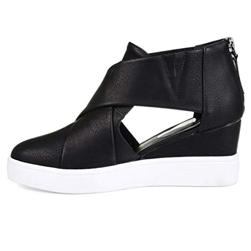 Women's Shoes Shoes Single With Matching Black Scrub Tootu Flat Zipper BdwB15