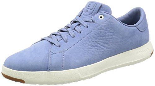 Cole Haan Mens Grandpro Tennis Moda Sneaker Cornwall Blu Nubuck