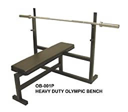 Ader Olympic Bench Press w/ 300lb Black Olympic Set