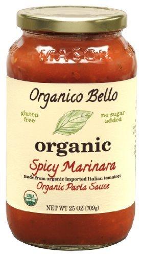 Organico Bello Sauce Pasta Spcy Mrnara O 25 OZ