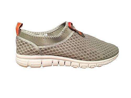 Atmungsaktive Laufsport Tennisschuhe, Beach Aqua, Outdoor, Sportlich, Regnerisch, Skifahren, Übung, Slip on Car Schuhe für Männer und Frauen Orange