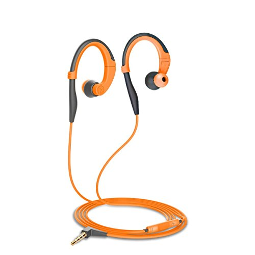 Pisen Sport Headphones, Waterproof Sweatproof Stereo Headset 3.5mm with Earhook, Running /...