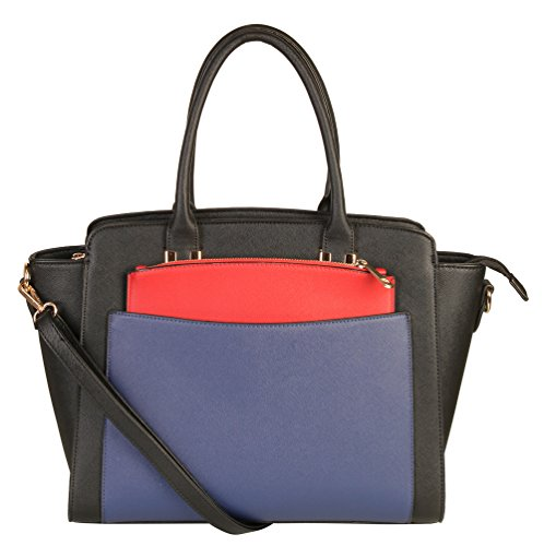 rimen-co-double-top-handles-three-tone-structured-satchel-tote-women-handbag-plus-1-additiona-mini-c