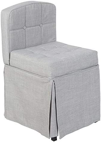Silverwood Vanity Chair, Grey