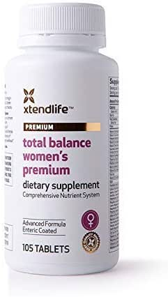 Xtend-Life Total Balance Women's Premium Multivitamin/Multinutrient Supplement for Anti-Aging & General Health (105 Enteric Coated Tablets)