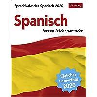 Sprachkalender Spanisch 2020 12,5x16cm