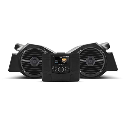 (Rockford Fosgate RZR-STAGE2 Stereo and Front Speaker kit for Select Polaris RZR)