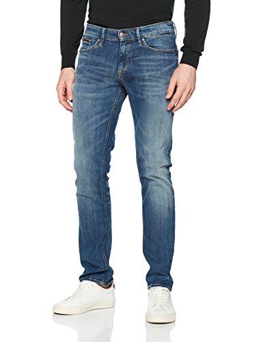 Tommy_Jeans Slim Scanton Dytmst, Vaqueros Hombre Azul (Dynamic True Mid Stretch 911)