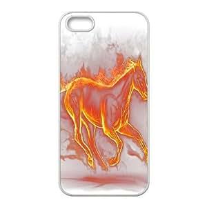 Fire Horse Unique Design Case for Iphone 5,5S, New Fashion Fire Horse Case
