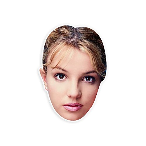 [Bored Britney Spears Mask - Perfect for Halloween, Masquerade, Parties, Events, Festivals, Concerts - Jumbo Size Waterproof] (Britney Spears Concert Costumes)