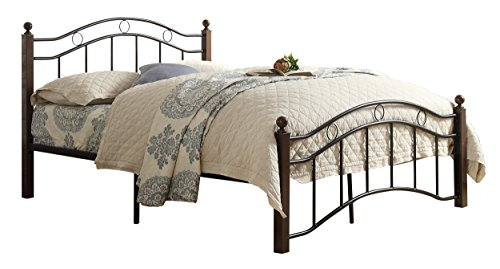 (Homelegance Averny Metal Platform Bed, Full,)