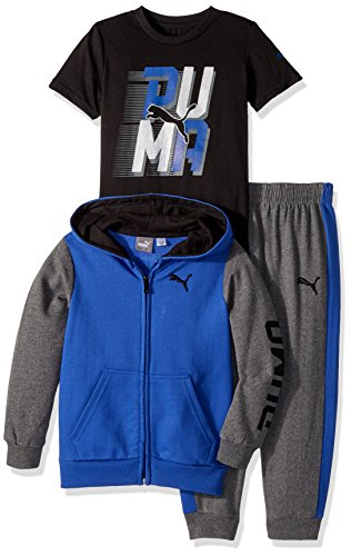 PUMA Boys' Three Piece Hoodie and Tee Set – DiZiSports Store
