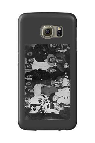 A Halloween Costume Party (Galaxy S6 Cell Phone Case, Slim Barely There) (Halloween Costumes For Work Groups)
