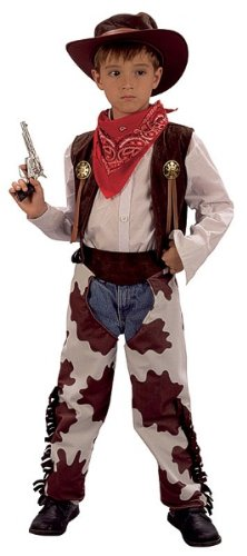 Small Boys Cowprint Cowboy Costume (Cowboy Outfit Kids)