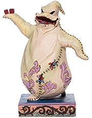 Enesco Jim Shore Disney Traditions The Nightmare Before Christmas Oogie Boogie Figurine, 7.48 Inch, Multicolor