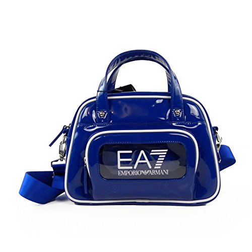 EMPORIO ARMANI EA7 Borsa donna patent series gym bag 285366 - TU, BLU NAVY