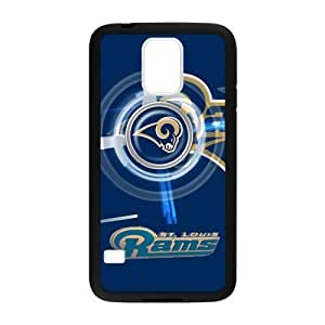 Circular rotating fashion design St. Louis Rams Samsung Galaxy s5 Case Cover Shell (Laser Technology)