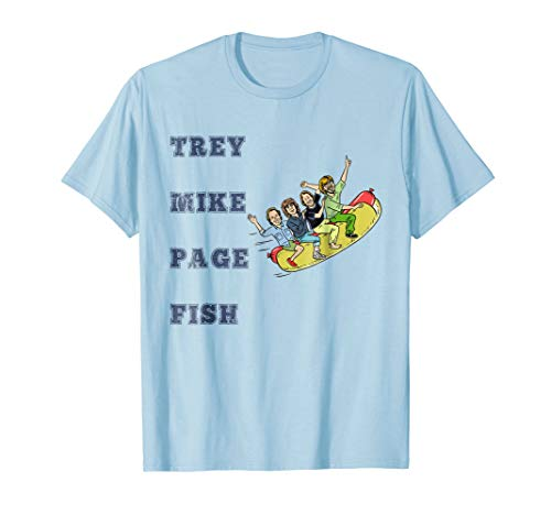 Trey Mike Page Fish Hotdog T-Shirt