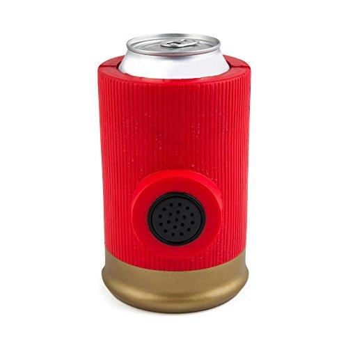 BigMouth Shotgun Shell Drink Kooler with Sound, Red
