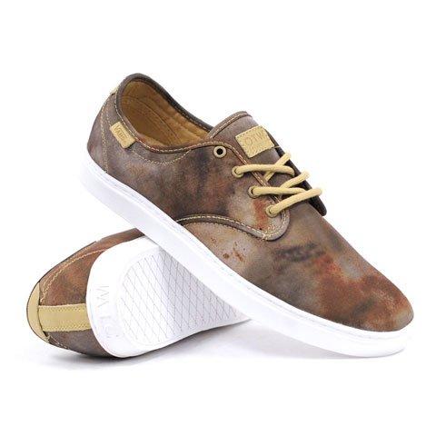 Vans Ludlow (vlekje / Witte) Mens Skate Schoen