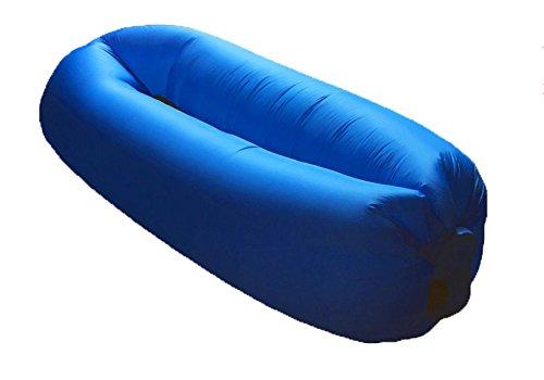 Alta calidad inflable sofá cama XL, azul inflable sofá, silla ...