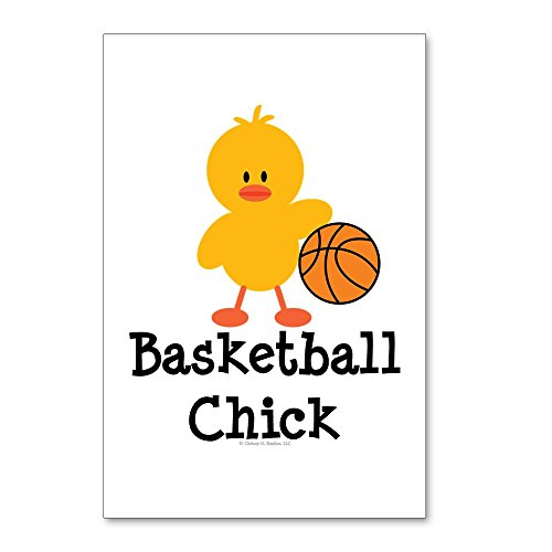 CafePress - Basketball Chick - Postcards (Package of 8), 6