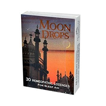 2 Packs of Historical Remedies Moon Drops For Sleep Aid - Case Of 12 - 30 Lozenges