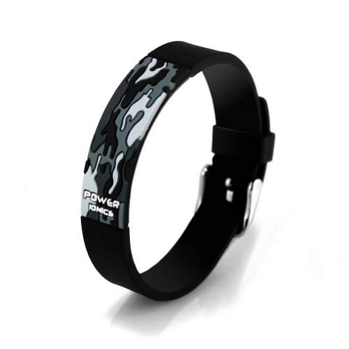 Power Ionics Baseball Titanium Wristband