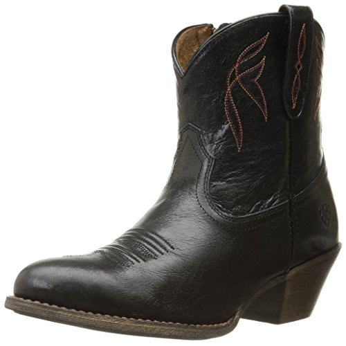 Ariat Women's Darlin Western Fashion Boot, Old Black, 10 B US