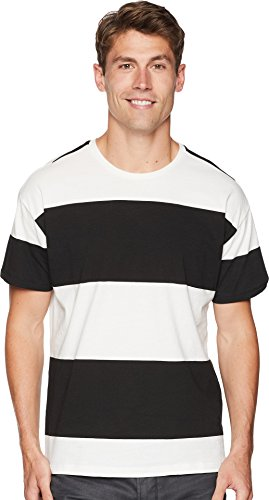 Hurley Men's Rugby Short Sleeve Crew Sail Black Large