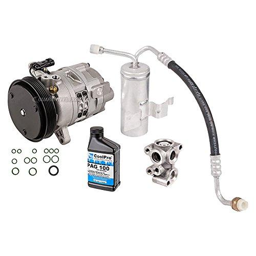 AC Compressor w/A/C Repair Kit For Saturn SC1 SC2 SL SL1 SW1 SW2 1998 - BuyAutoParts 60-82280RK (Saturn Ac Compressors)