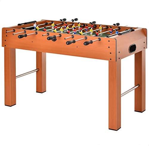 HOMCOM Mesa de Futbolín para Casa o Salas de Juego Fácil de Montar con 8 Barras y 2 Pelotas 122x61x80,7cm: Amazon.es: Juguetes y juegos