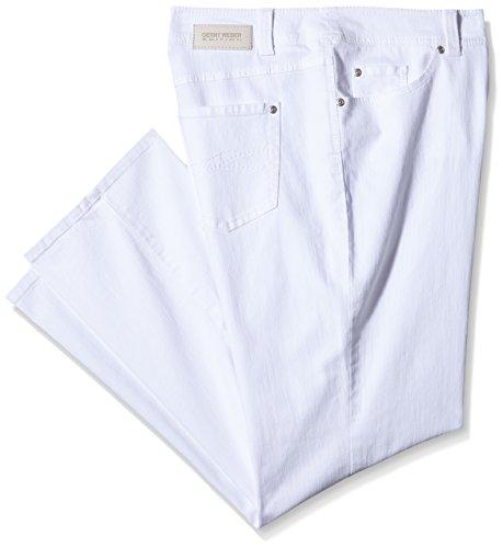 Gerry Weber Edition 763 - Pantalones Mujer Blanco (Weiß/Weiß 99600)