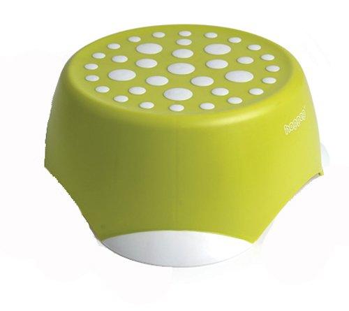 Hoppop 32130012 Monti - Taburete infantil, color lima y blanco Dorel nbb-2842