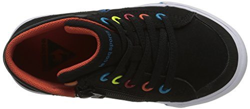 Le Coq Sportif 1620501 - Zapatillas altas Unisex para niños Negro (Black)