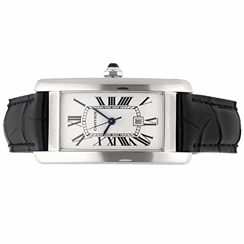 Cartier Tank Americaine automatic-self-wind womens Watch W2603656 (Certified Pre-owned) by Cartier