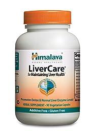 Himalaya LiverCare/Liv.52 for Liver Detox 375mg, 90 VCaps