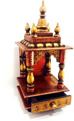 c551b3ac2 D'Dass Wooden Vintage Home Temple for home/Rajasthani vintage Wooden Temple/  Pooja