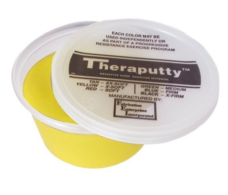 MDSP100900 - Theraputty Resistive Hand Exercise Material,Yellow